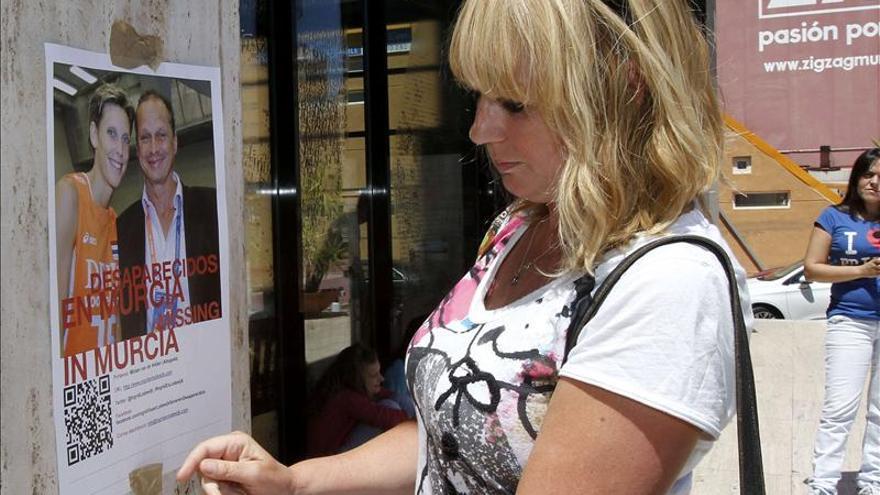 Los holandeses desaparecidos fueron vistos el día 14 en un hotel de Murcia