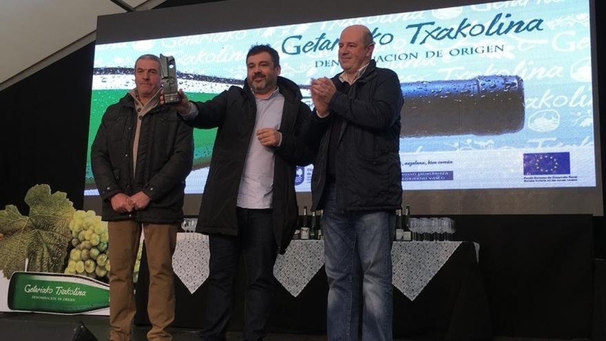 La nueva cosecha de Txakoli de Getaria sacará al mercado 3,1 millones de botellas