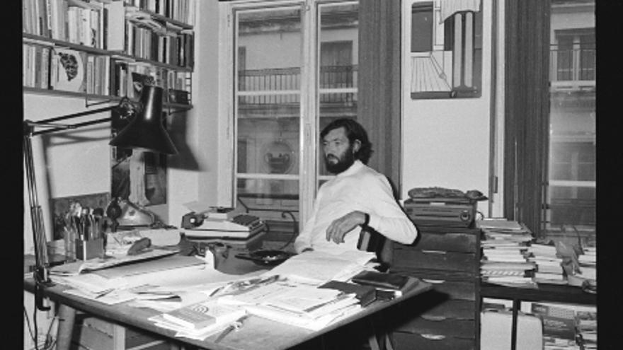 El escritor Julio Cortázar / Pepe Fernández