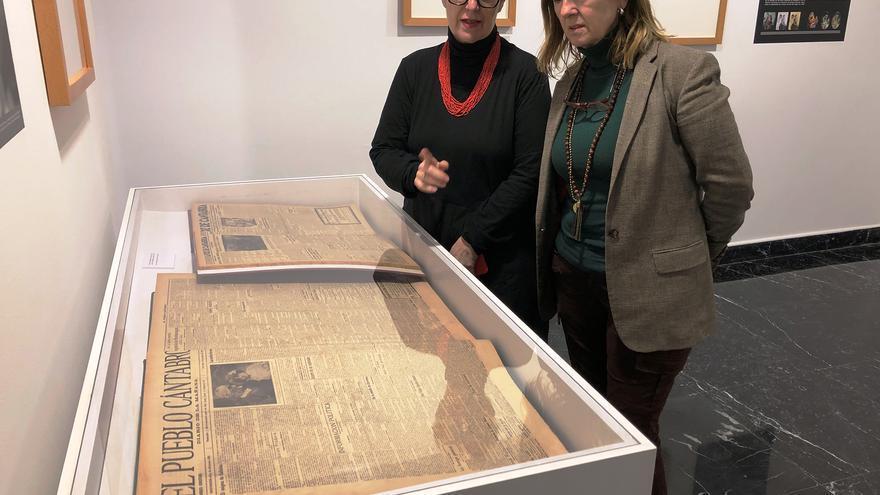 La concejala de Cultura de Santander, María Luisa Sanjuán, en una visita al CDIS. | ARCHIVO