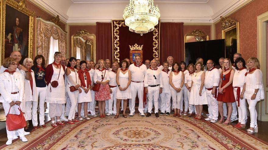 Los alcaldes de Pamplona y Bayona destacan los lazos que unen a los dos municipios