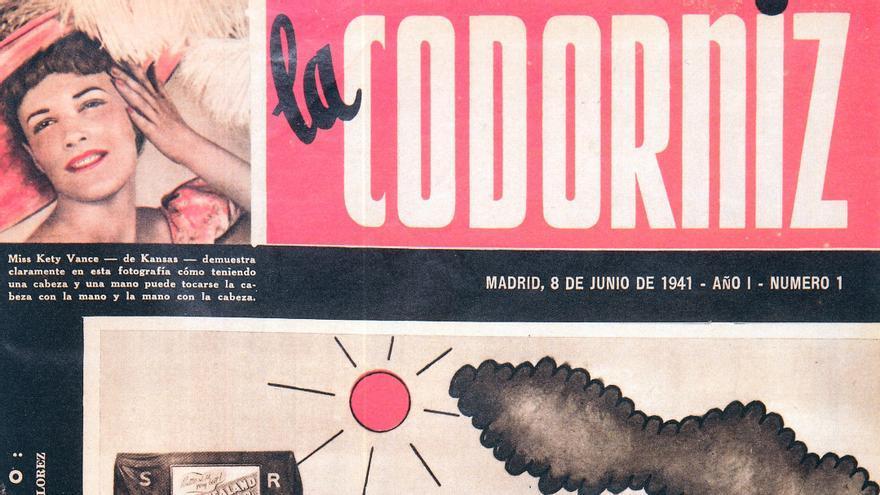 Portada de Tono primer número de La Codorniz, 8 de junio de 1941