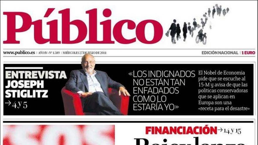 De las portadas del día (27/07/2011) #9
