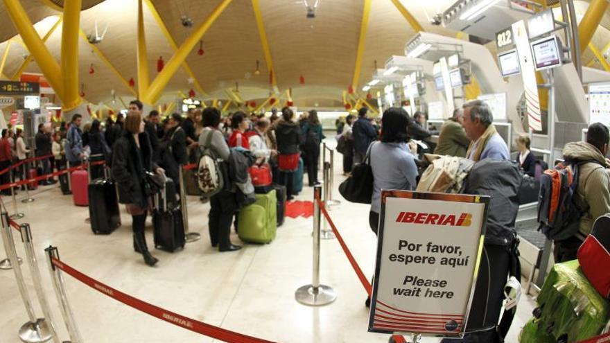 El personal de tierra de Iberia mantiene la huelga al fracasar la mediación