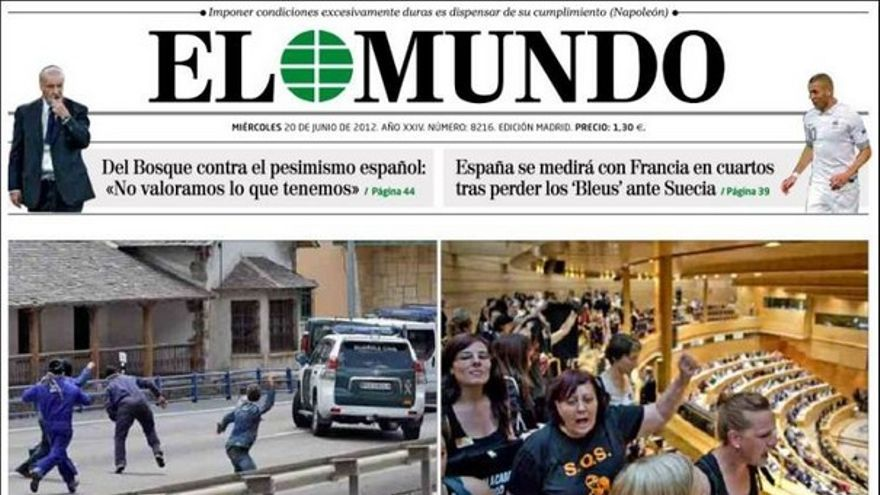 De las portadas del día (20/06/2012) #8
