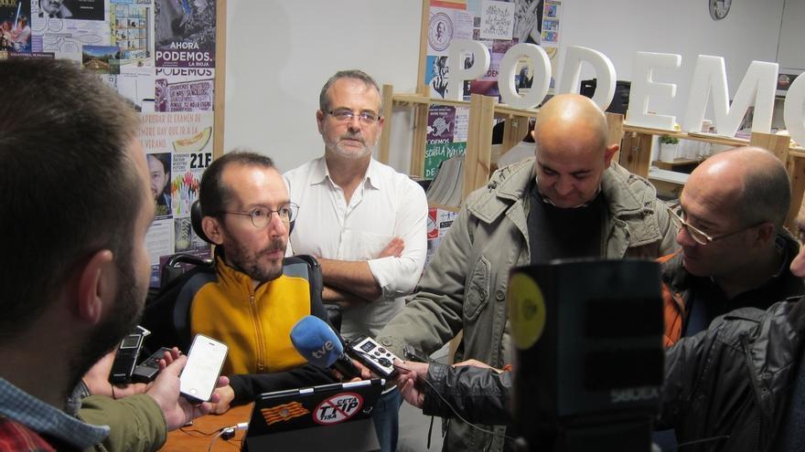 """Pablo Echenique apuesta por """"un nuevo Podemos que esté más pegado a la calle"""""""