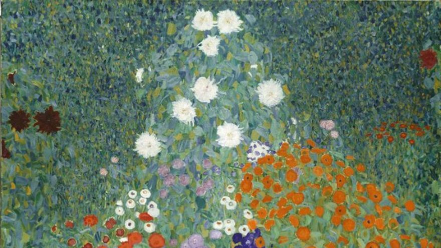 Jardin de fleurs -  Gustav Klimt
