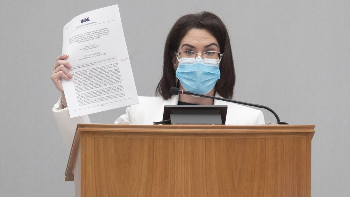 Toñi Abenza, diputada del PSRM