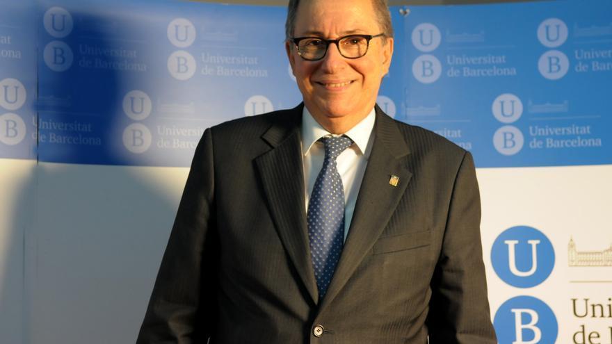 Dídac Ramírez, rector de la Universitat de Barcelona.