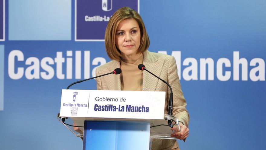 María Dolores de Cospedal, cuando era presidenta de Castilla-La Mancha