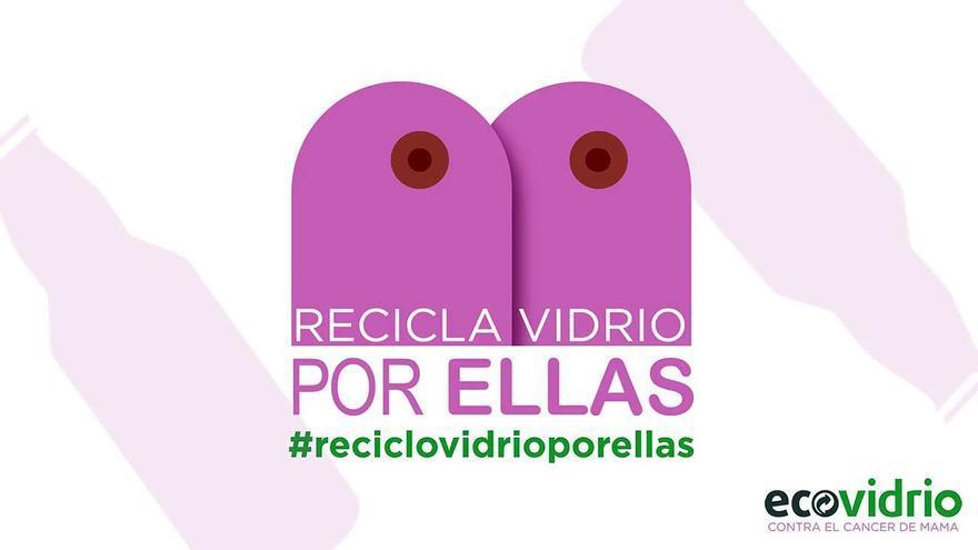 Campaña de Ecovidrio: #reciclovidrioporellas