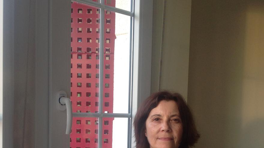 La activista cántabra Carmen Díez.