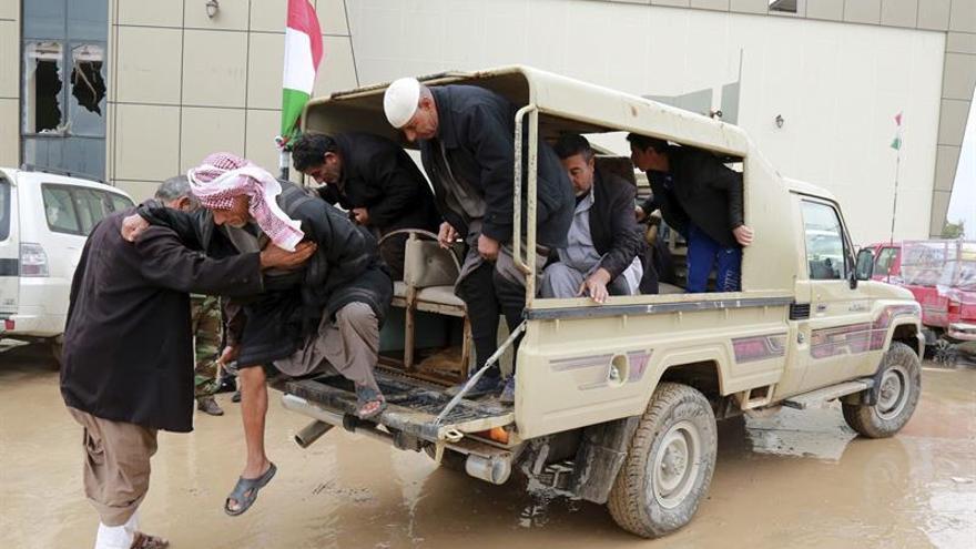 Mueren 13 miembros del EI en un bombardeo de la coalición al oeste de Mosul