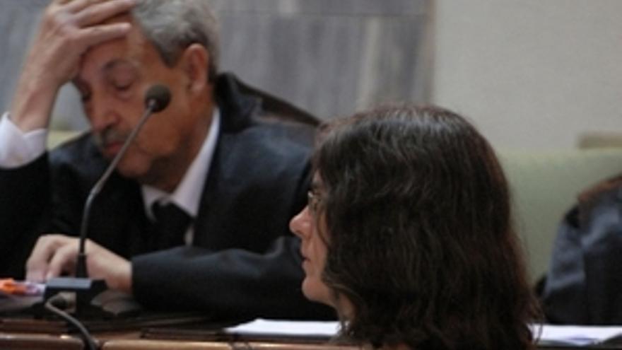 La acusada, durante el juicio. (ACFI PRESS)