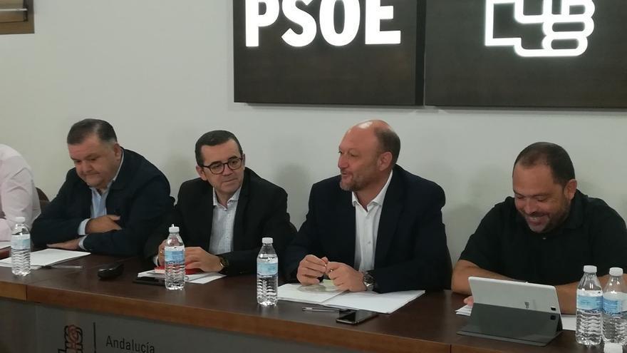 """PSOE-A subraya que los """"demócratas"""" harán """"todo lo posible por restablecer el Estado de derecho"""" en Cataluña"""