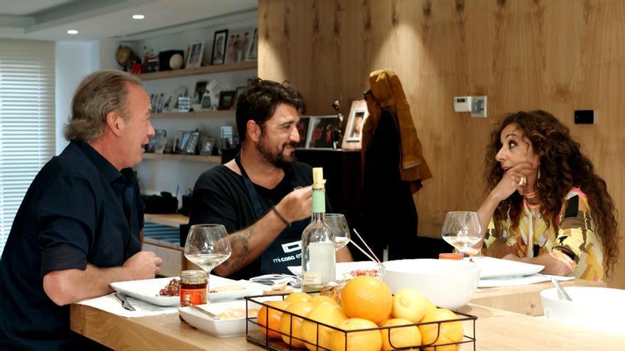Bertín Osborne, Antonio Orozco y Rosario Flores