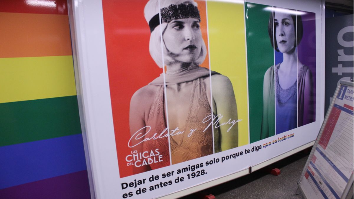 Uno de los carteles de la nueva campaña de Netflix para el Orgullo | SOMOS CHUECA