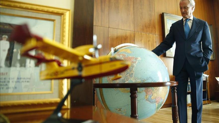 Morenés opina que las averías de los aviones son algo mediático, con un fondo técnico de poca consistencia