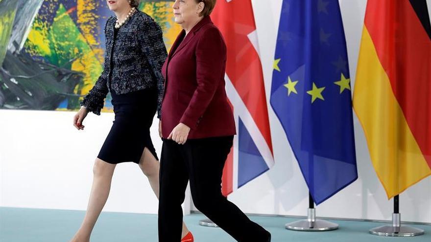 """May pide un """"nuevo enfoque"""" del capitalismo para hacer funcionar el """"brexit"""""""