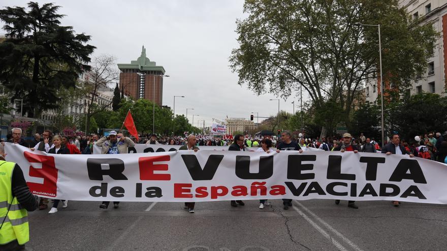 Se cumplen dos años de la movilización por la España Vaciada en Madrid.
