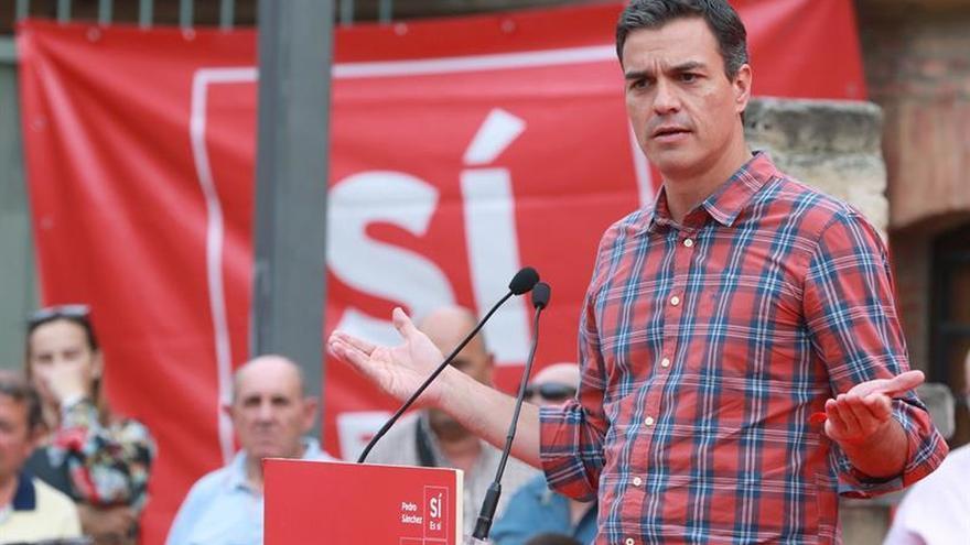 Sánchez no descarta una moción de censura contra Rajoy si es para ganarla