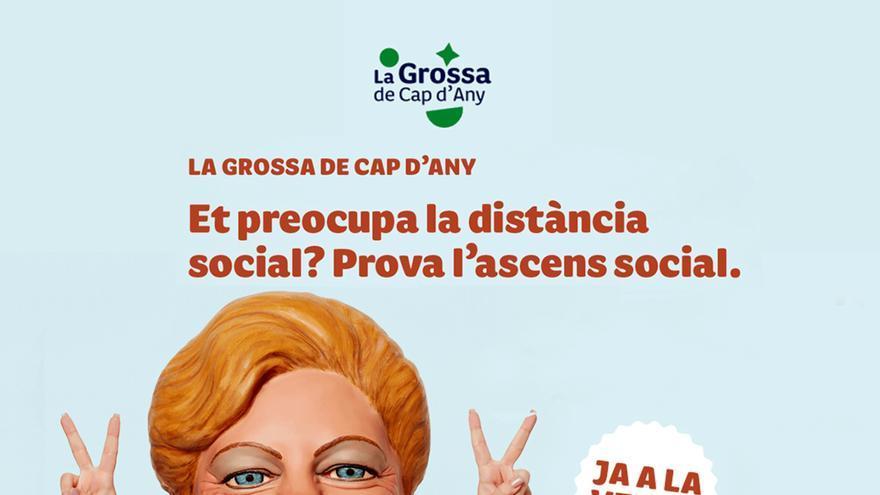 Cartel de La Grossa retirado por Loteries de Catalunya