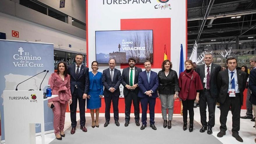 """El Camino de la Vera Cruz echa a andar en Fitur """"uniendo voluntades para el desarrollo socioeconómico de los territorios que recorre"""""""