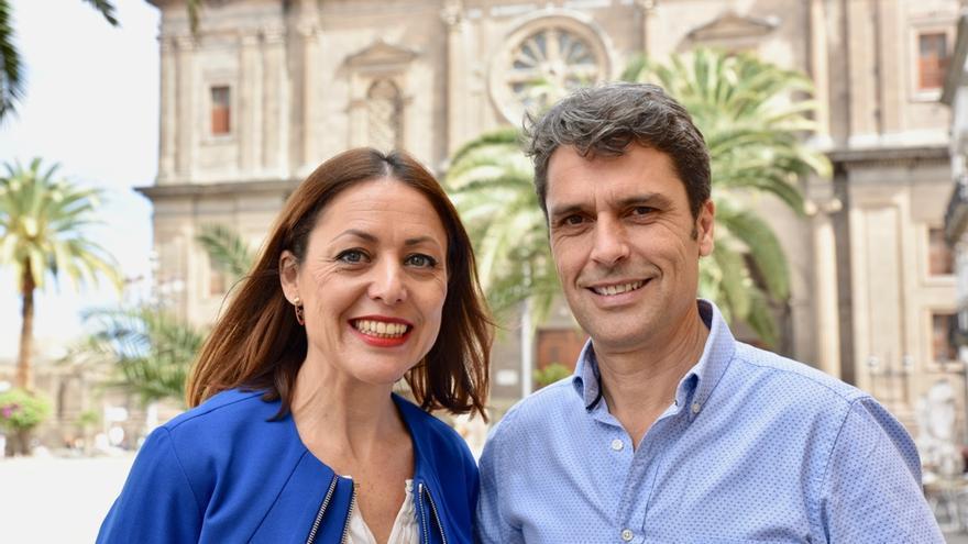 Los populares Cristina Tavío y Enrique Hernández Bento