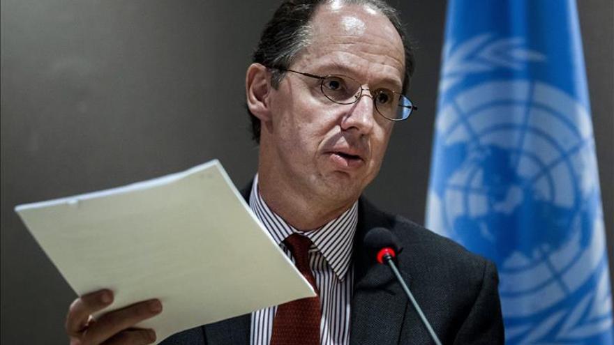 """El relator de la ONU, Pablo de Greiff, ha reprochado al Estado que no investigue ni enjuicie los """"graves"""" crímenes de la Guerra Civil y la dictadura. \ EFE"""