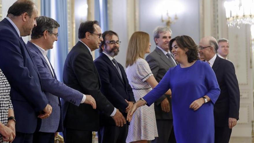 S.Santamaría: Puigdemont y Junqueras deben asumir fracaso tras dimitir Batlle