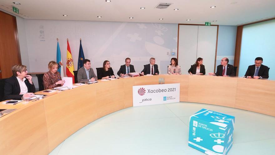 Reunión este jueves del Gobierno gallego sin Feijóo, de viaje oficial en Estados Unidos
