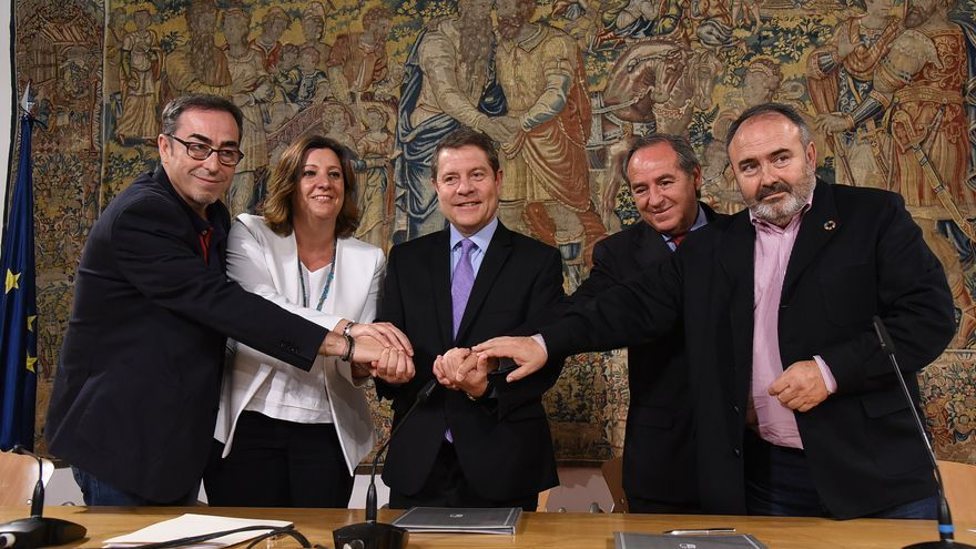 """El diálogo regulado por ley para garantizarlo """"gobierne quien gobierne"""" , la propuesta de García-Page"""
