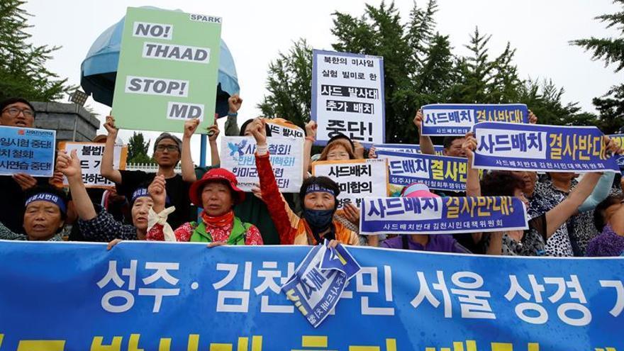 Seúl y Washington negocian ampliar el THAAD tras el lanzamiento norcoreano