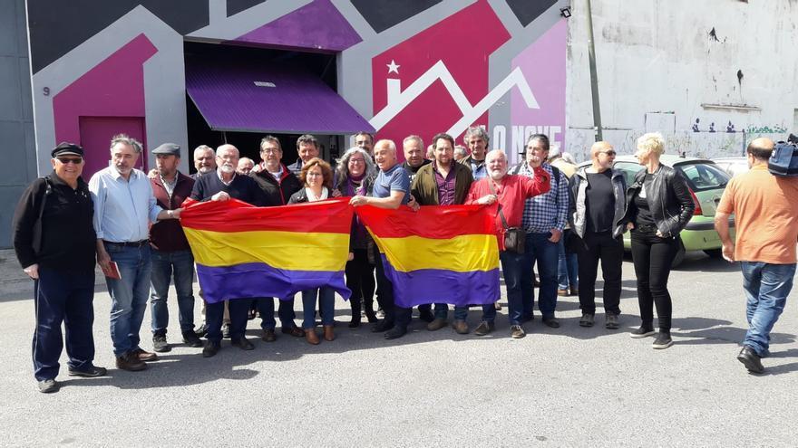 Reunión en Málaga de la Asamblea por la Memoria Histórica de Andalucía.
