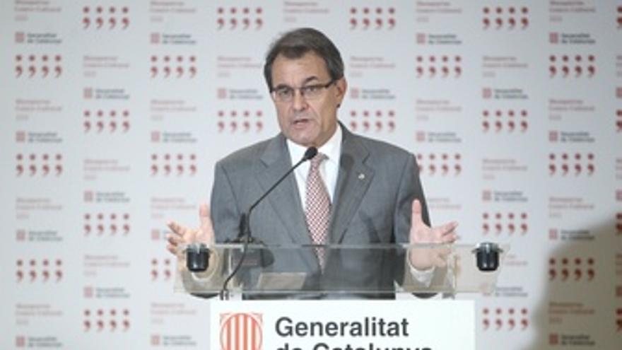 Artur Mas en rueda de prensa tras encuentro en Moncloa
