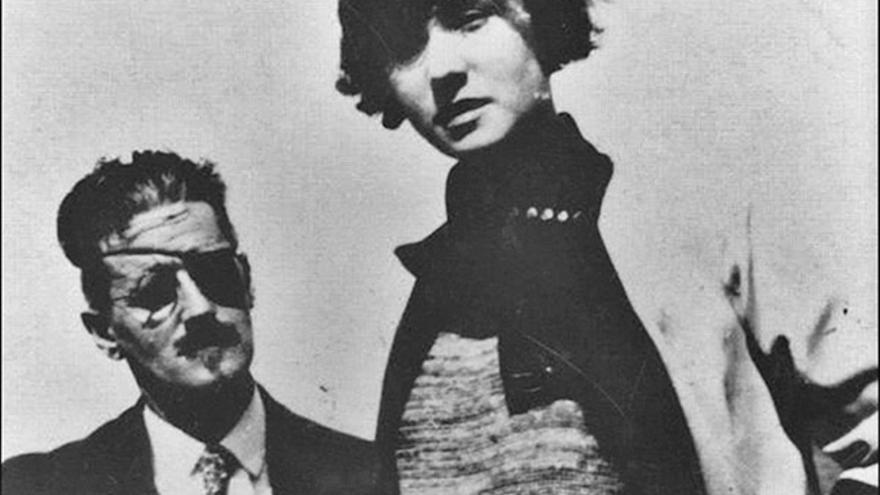 Nora Barnacle y James Joyce