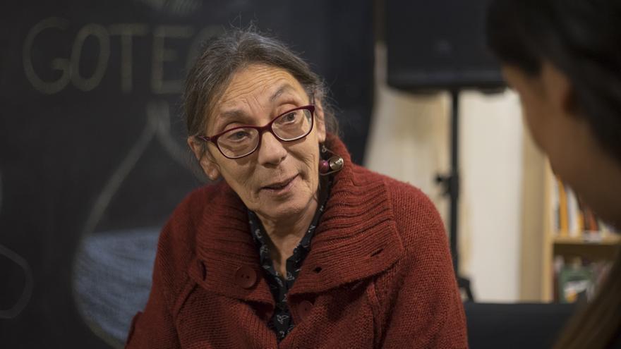 Marianella Ferrero durante la entrevista con eldiario.es. | ROMÁN GARCÍA