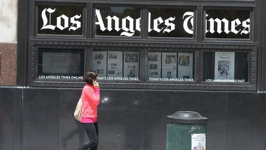 Millonario sudafricano compra Los Angeles Times por 500 millones de dólares