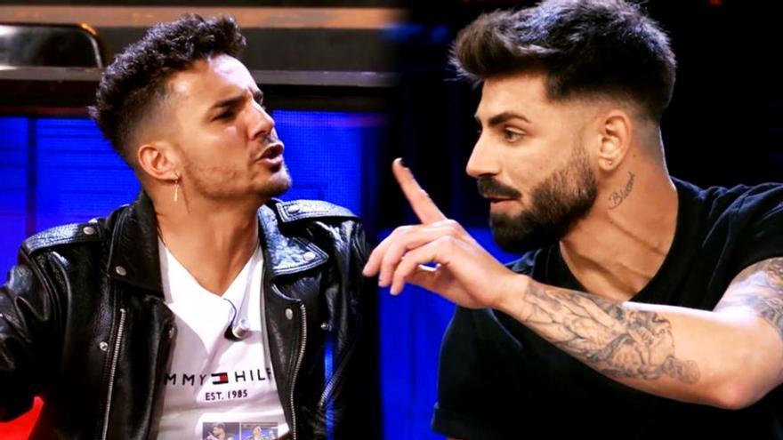 Manuel e Isaac en 'El Debate de las Tentaciones'