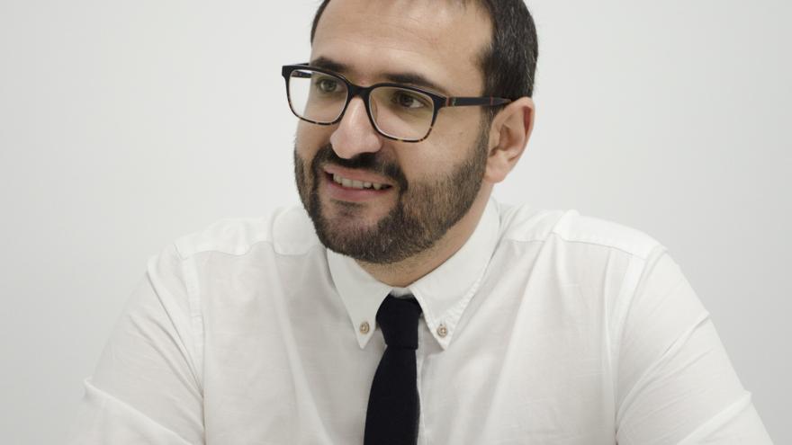 El eurodiputado y número dos del PSOE en el Parlamento Europeo, Sergio Gutiérrez