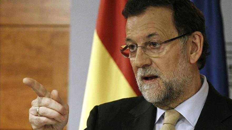 """Rajoy agradece la labor de Basagoiti en Euskadi donde """"ha dado la batalla"""