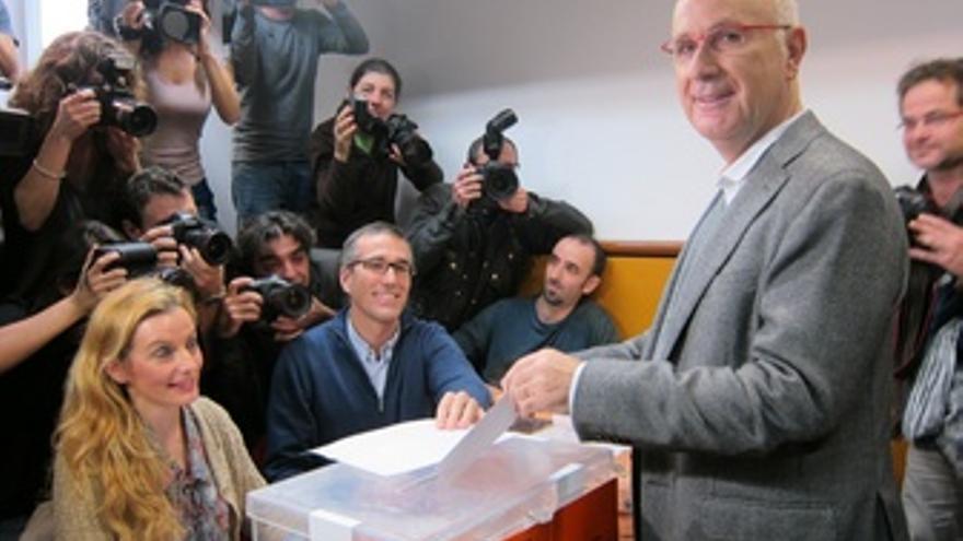 Josep Antoni Duran, En La Votación