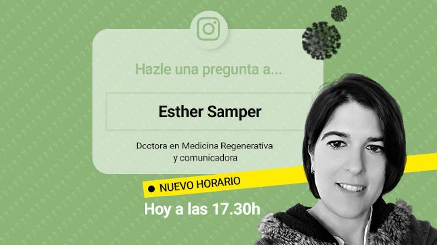 Resuelve tus dudas sobre el coronavirus con Esther Samper