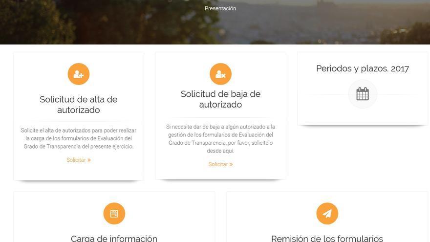 Aplicación 'T-Canaria' .