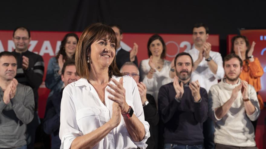 """Mendia (PSE-EE) pide a quienes apoyaron a Sánchez en las generales que """"cierren el círculo"""" en las elecciones vascas"""