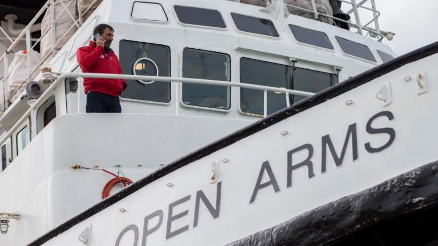Autorizan al Open Arms a zarpar para llevar ayuda, pero no para rescates