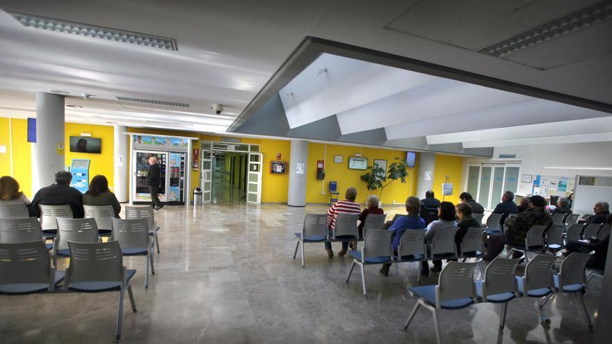 Sala de espera del hospital de Alzira