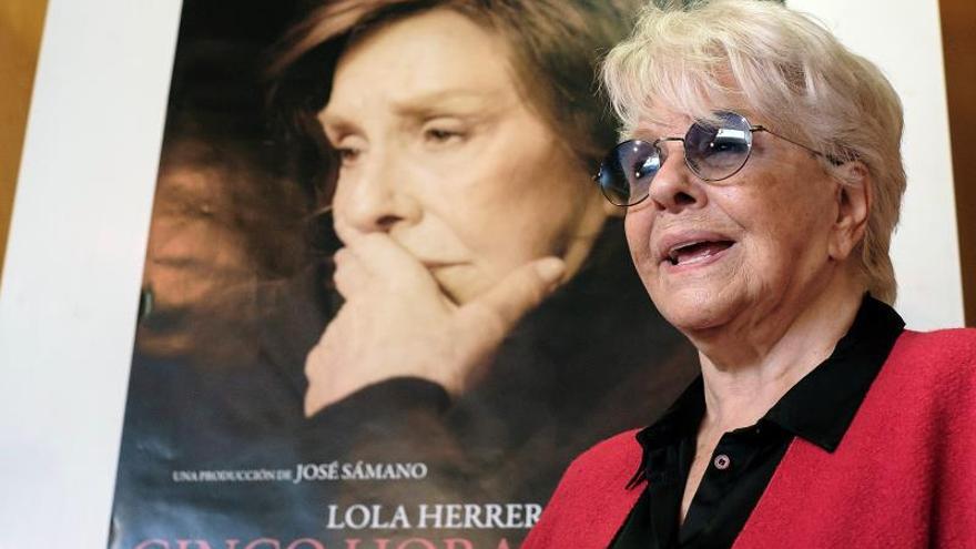 Lola Herrera: Las mujeres hemos conseguido mucho, pero no tenemos nada seguro