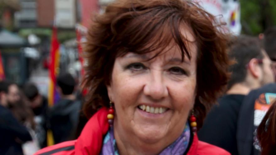 Marisol González es la delegada de AGE en Cantabria, y familiar de algunas víctimas del franquismo