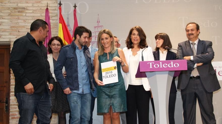 Milagros Tolón celebra la distinción de Toledo como Capital Española de la Gastronomía 2016